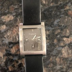Men's Black Kenneth Cole Wristwatch